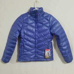 NEW North Face Womens XS Purple Puffer Jacket Coat